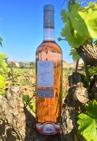 Vin rosé cuvée Stéphanie